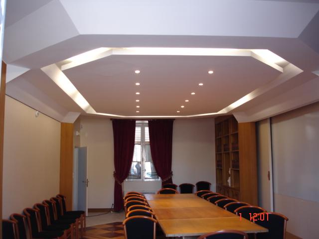 Partenaire gip isolation for Dtu faux plafond